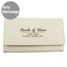Classic Cream Leather Purse